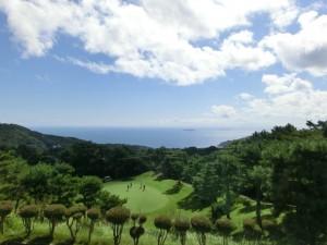 西熱海ゴルフコース3